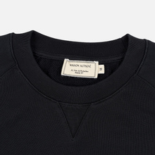Мужская толстовка Maison Kitsune Triangle Fox Patch Black фото- 1