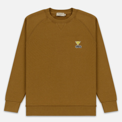 Мужская толстовка Maison Kitsune Triangle Fox Patch Camel