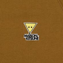 Мужская толстовка Maison Kitsune Triangle Fox Patch Camel фото- 2