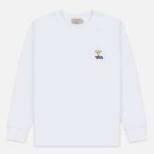 Мужская толстовка Maison Kitsune Triangle Fox Patch White фото- 0