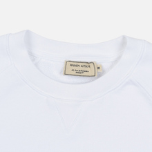 Мужская толстовка Maison Kitsune Triangle Fox Patch White фото- 1