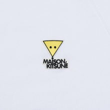 Мужская толстовка Maison Kitsune Triangle Fox Patch White фото- 2