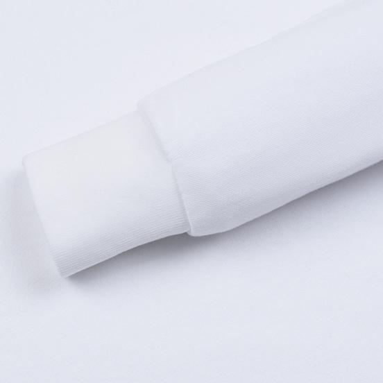 Мужская толстовка Maison Kitsune Triangle Fox Patch White