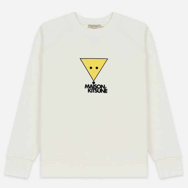 Мужская толстовка Maison Kitsune Triangle Fox White