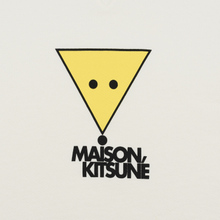 Мужская толстовка Maison Kitsune Triangle Fox White фото- 2