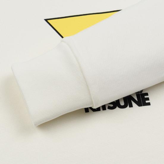 Мужская толстовка Maison Kitsune Triangle Fox White
