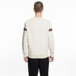 Мужская толстовка Maison Kitsune Striped Fox Ecru Melange фото- 5