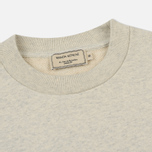 Мужская толстовка Maison Kitsune Striped Fox Ecru Melange фото- 1