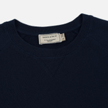 Мужская толстовка Maison Kitsune Tricolor Fox Patch Navy фото- 1