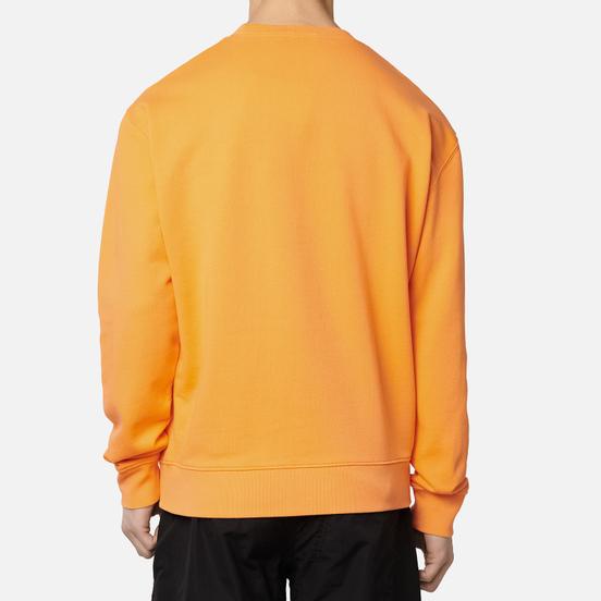 Мужская толстовка Maison Kitsune Yoga Fox Patches Orange