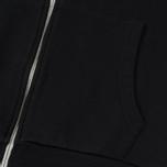 Мужская толстовка Maison Kitsune Zip Hoodie Tricolor Fox Patch Black фото- 3