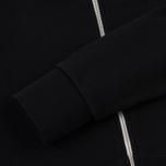 Мужская толстовка Maison Kitsune Zip Hoodie Tricolor Fox Patch Black фото- 4