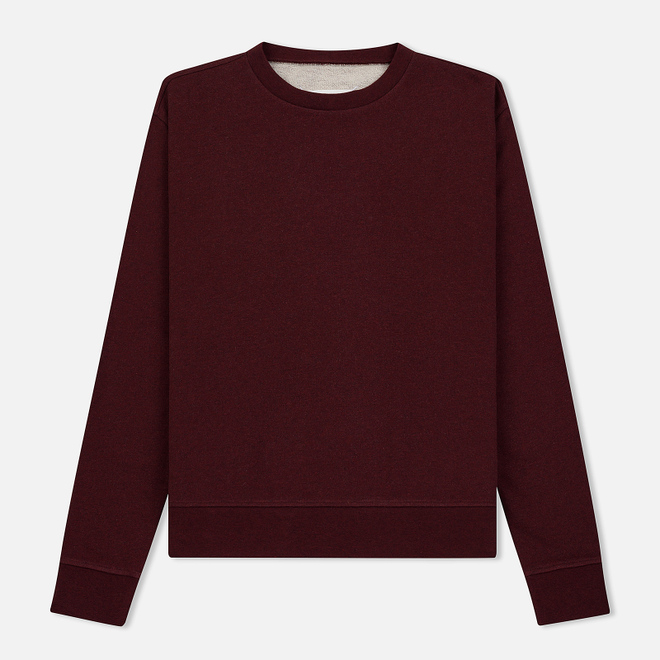 Мужская толстовка Maison Margiela Decortique Bordeaux Melange