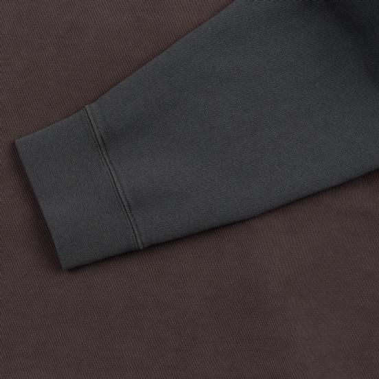Мужская толстовка Maison Margiela Double Layer Hooded Grey Overdye