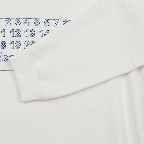 Мужская толстовка Maison Margiela Four White Stitches Off White