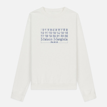Мужская толстовка Maison Margiela Four White Stitches Off White фото- 0