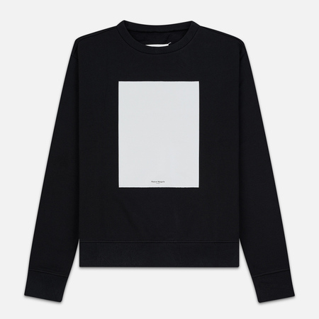 Мужская толстовка Maison Margiela Logo Printed Patch Black