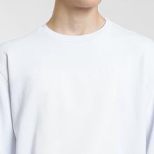 Мужская толстовка Maison Margiela Logo Printed Patch White фото- 4
