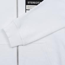 Мужская толстовка Maison Margiela Stereotype Felpa Con Zip Off White фото- 4