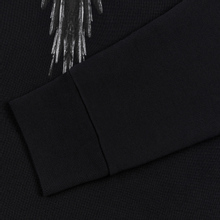 Мужская толстовка Marcelo Burlon Black Wings Hoodie Black/Black фото- 2