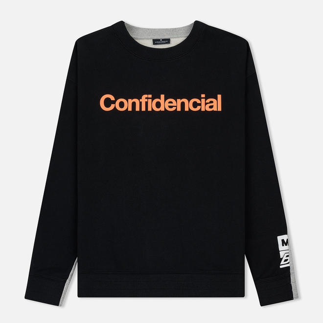 Мужская толстовка Marcelo Burlon Confidencial Over Crewneck Black/Multicolor