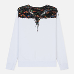Мужская толстовка Marcelo Burlon Fluo Lights Wings Crewneck White/Multicolor фото- 1