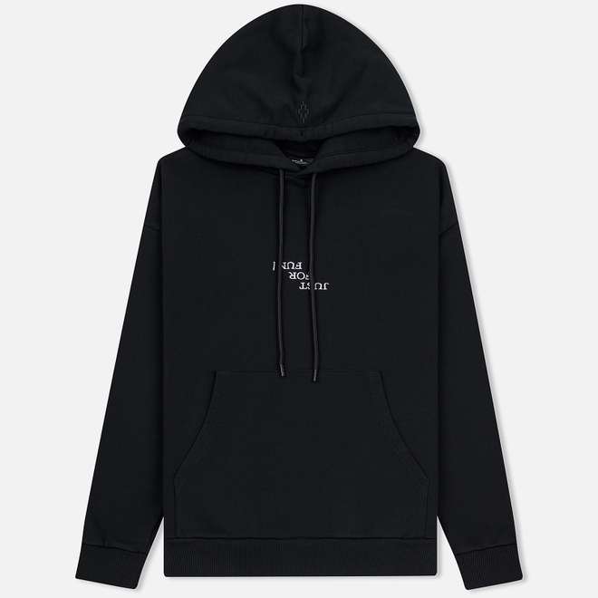 Мужская толстовка Marcelo Burlon Ghost House Over Hoodie Black/Beige