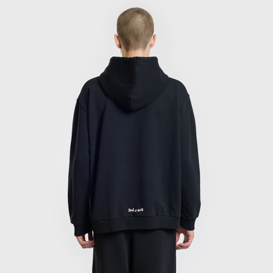 Мужская толстовка Marcelo Burlon Shock Over Hoodie Black/Multicolor