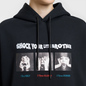 Мужская толстовка Marcelo Burlon Shock Over Hoodie Black/Multicolor фото - 2