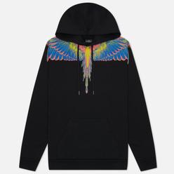 Мужская толстовка Marcelo Burlon Wings Regular Hoodie Black/Multicolor