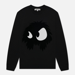 Мужская толстовка McQ Alexander McQueen Big Crew Neck Chester Monster Darkest Black