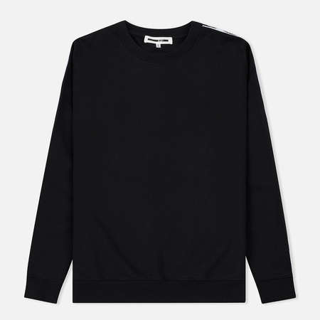 Мужская толстовка McQ Alexander McQueen Big Crew Neck MCQ Racer Darkest Black