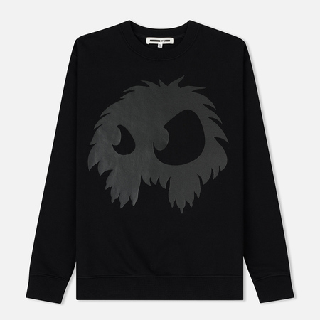 Мужская толстовка McQ Alexander McQueen Clean Crew Neck Chester Monster Darkest Black