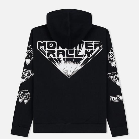 Мужская толстовка McQ Alexander McQueen Monster Rally Big Hoodie Darkest Black