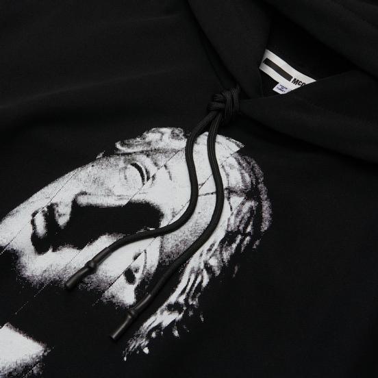 Мужская толстовка McQ Alexander McQueen Pullover Hoodie The Noise Club Darkest Black