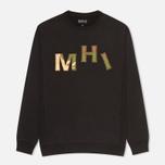 Мужская толстовка MHI By Maharishi Camo Crew Black фото- 0