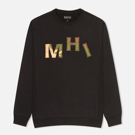 Мужская толстовка MHI By Maharishi Camo Crew Black