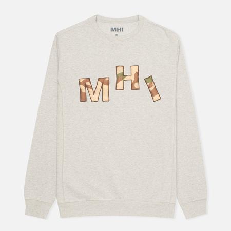 Мужская толстовка MHI By Maharishi Camo Crew Grey Marl