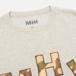 Мужская толстовка MHI By Maharishi Camo Crew Grey Marl фото- 1
