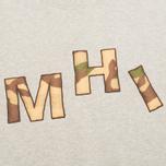 Мужская толстовка MHI By Maharishi Camo Crew Grey Marl фото- 2