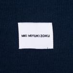 Мужская толстовка MKI Miyuki-Zoku 8 Oz Super Heavyweight Navy фото- 2