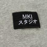 Мужская толстовка MKI Miyuki-Zoku Badge Sweat Grey фото- 3