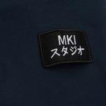 Мужская толстовка MKI Miyuki-Zoku Badge Sweat Navy фото- 3