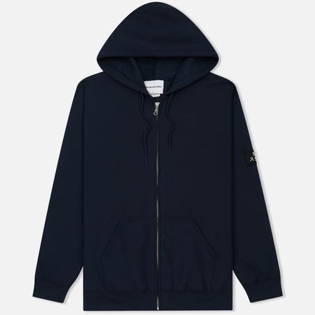 Мужская толстовка MKI Miyuki-Zoku Badge Zip Hoody Navy