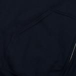 Мужская толстовка MKI Miyuki-Zoku Badge Zip Hoody Navy фото- 2