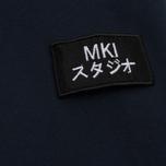 Мужская толстовка MKI Miyuki-Zoku Badge Zip Hoody Navy фото- 4