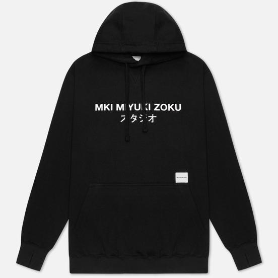 Мужская толстовка MKI Miyuki-Zoku Classic Logo Hoody Black