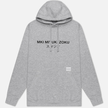 Мужская толстовка MKI Miyuki-Zoku Classic Logo Hoody Grey фото- 0