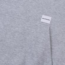 Мужская толстовка MKI Miyuki-Zoku Classic Logo Hoody Grey фото- 4