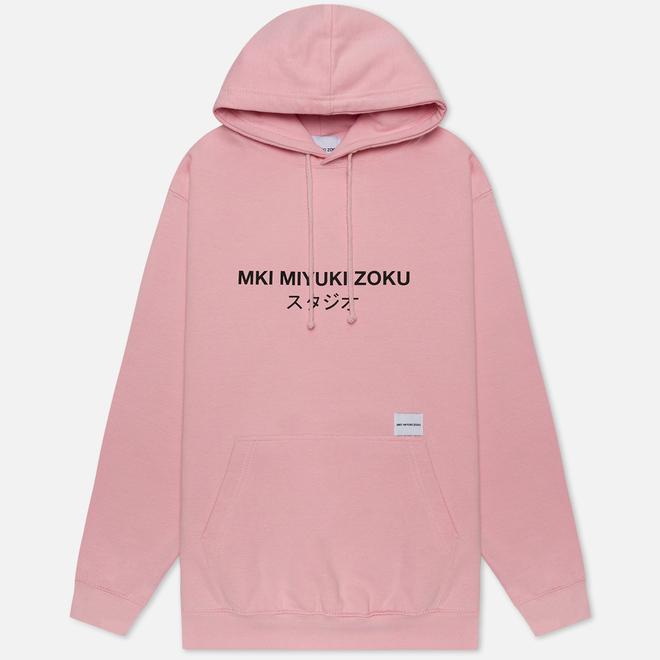 Мужская толстовка MKI Miyuki-Zoku Classic Logo Hoody Pink
